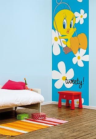 Wandtapete Tapete Wandbild TWEETY ideal für Kinderzimmer ca 254x92cm ...