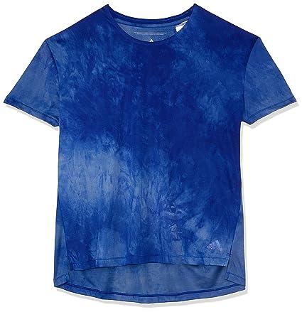 Adidas Supernova TKO Alive Camiseta, Mujer, Azul (Mystery Ink f17), XS