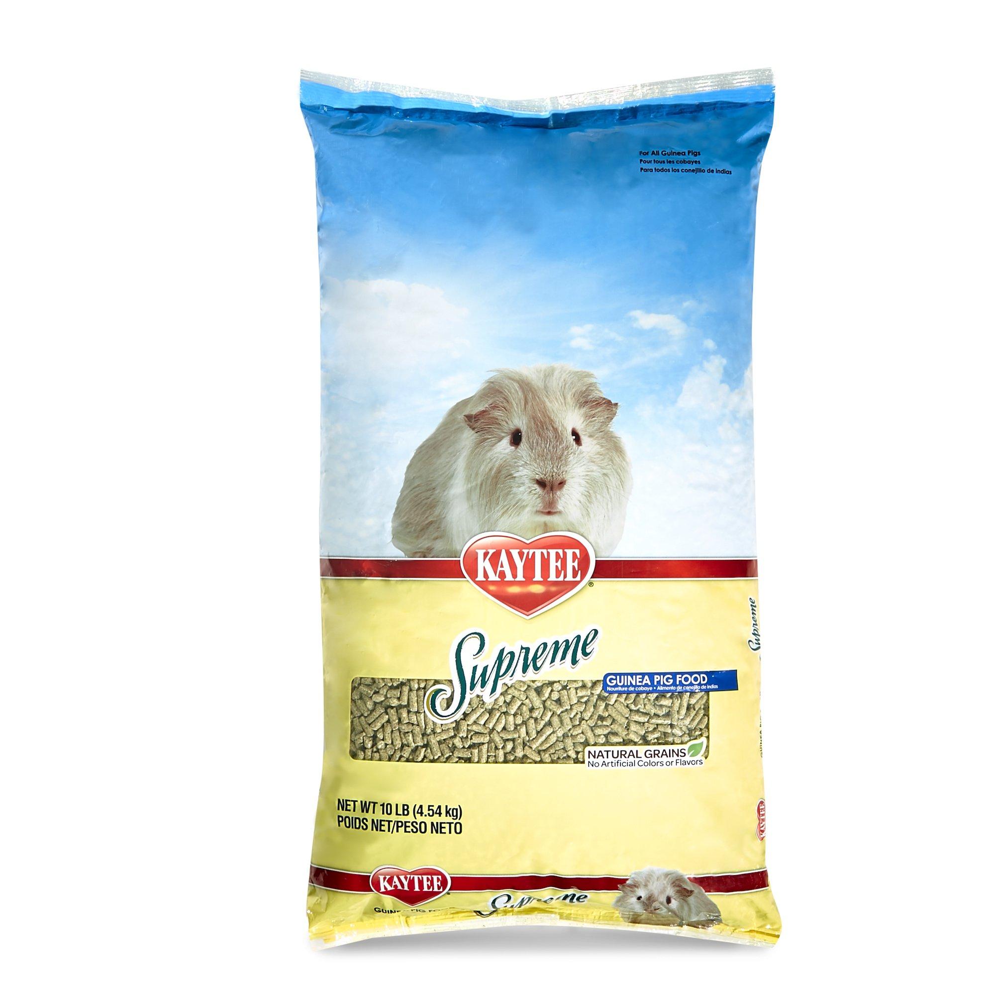 Kaytee Supreme Guinea Pig Food, 10lb