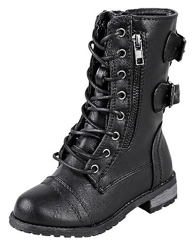 The 8 best black combat boots under 20