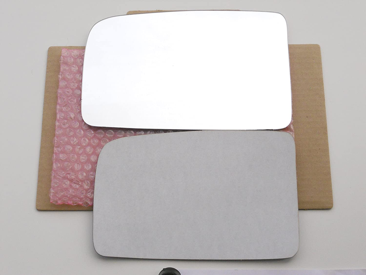 New Replacement Mirror Glass with FULL SIZE ADHESIVE for Lincoln MKT Driver Side View Left LH