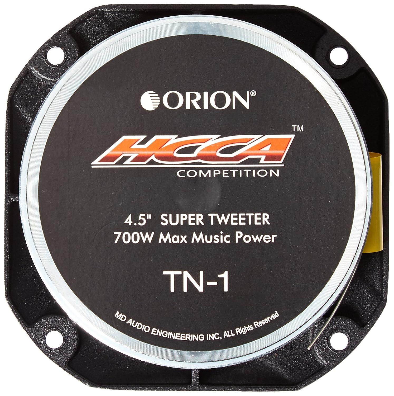 Orion HCCATN1 4.5 HCCA TN-1 Neodymium Bullet Super Tweeter