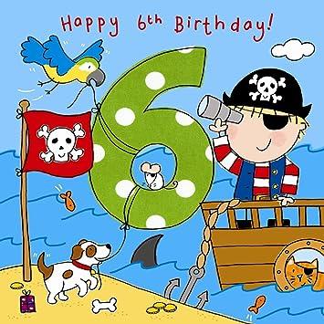 Twizler 6 Geburtstag Fur Jungen Mit Piraten Und Kristallen Fur