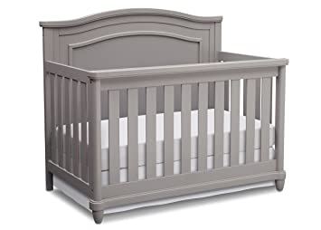 Delicieux Simmons Kids Belmont All In One Convertible Crib And Rail Kit, Grey