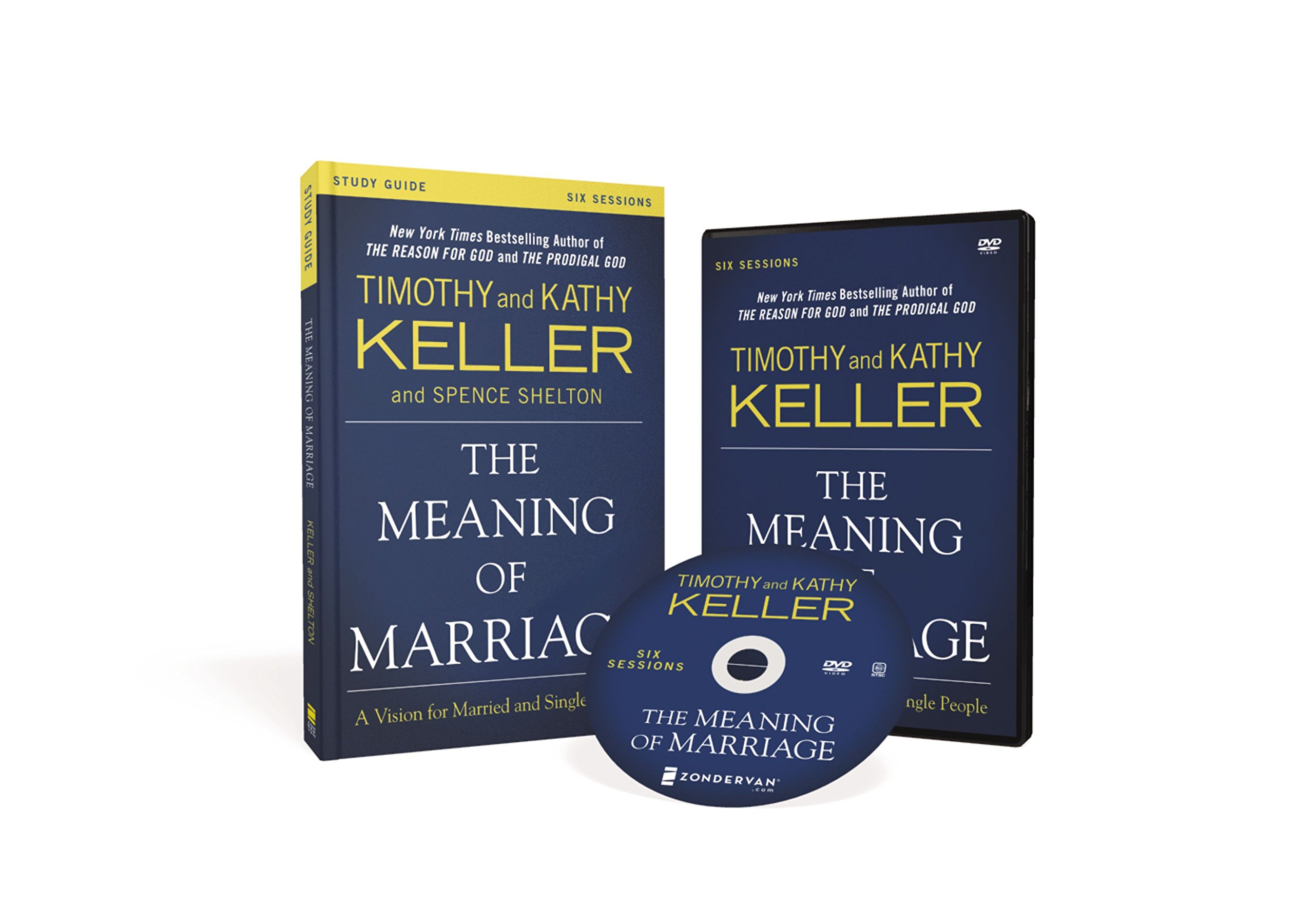 The Meaning of Marriage Study Guide with DVD: A Vision for Married and  Single People: Timothy Keller, Kathy Keller, Spence Shelton: 0025986874919:  ...