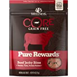 Wellness CORE Pure Rewards Natural Grain Free Dog Treats, Soft Jerky Bites, 4-Ounce Bag