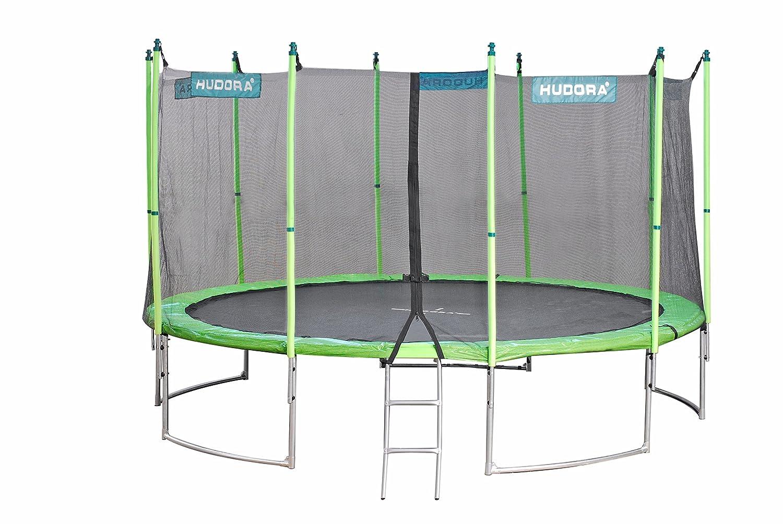 HUDORA 1 Fangnetz (Sicherungsnetz) für Family Trampoline ø 480 cm, grün s5PZ4I