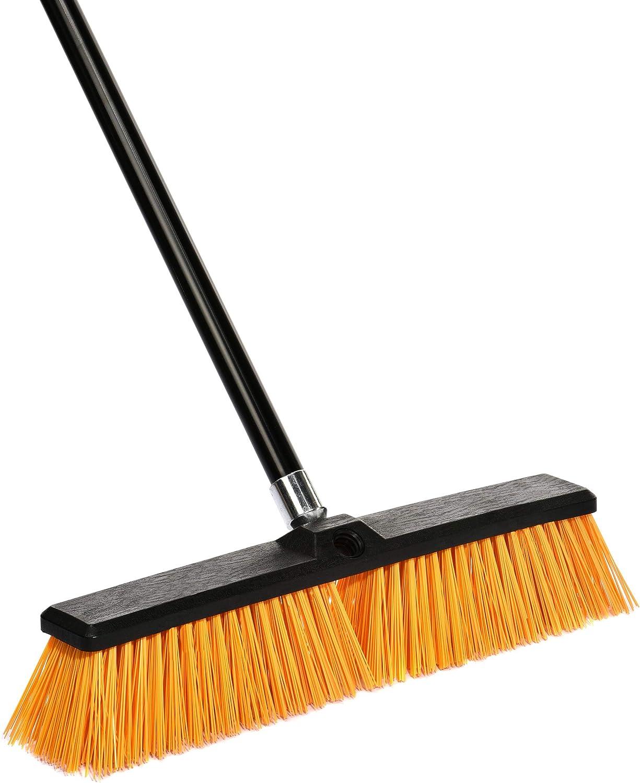 Alpine Industries Rough-Surface Push Broom (18 Inch)