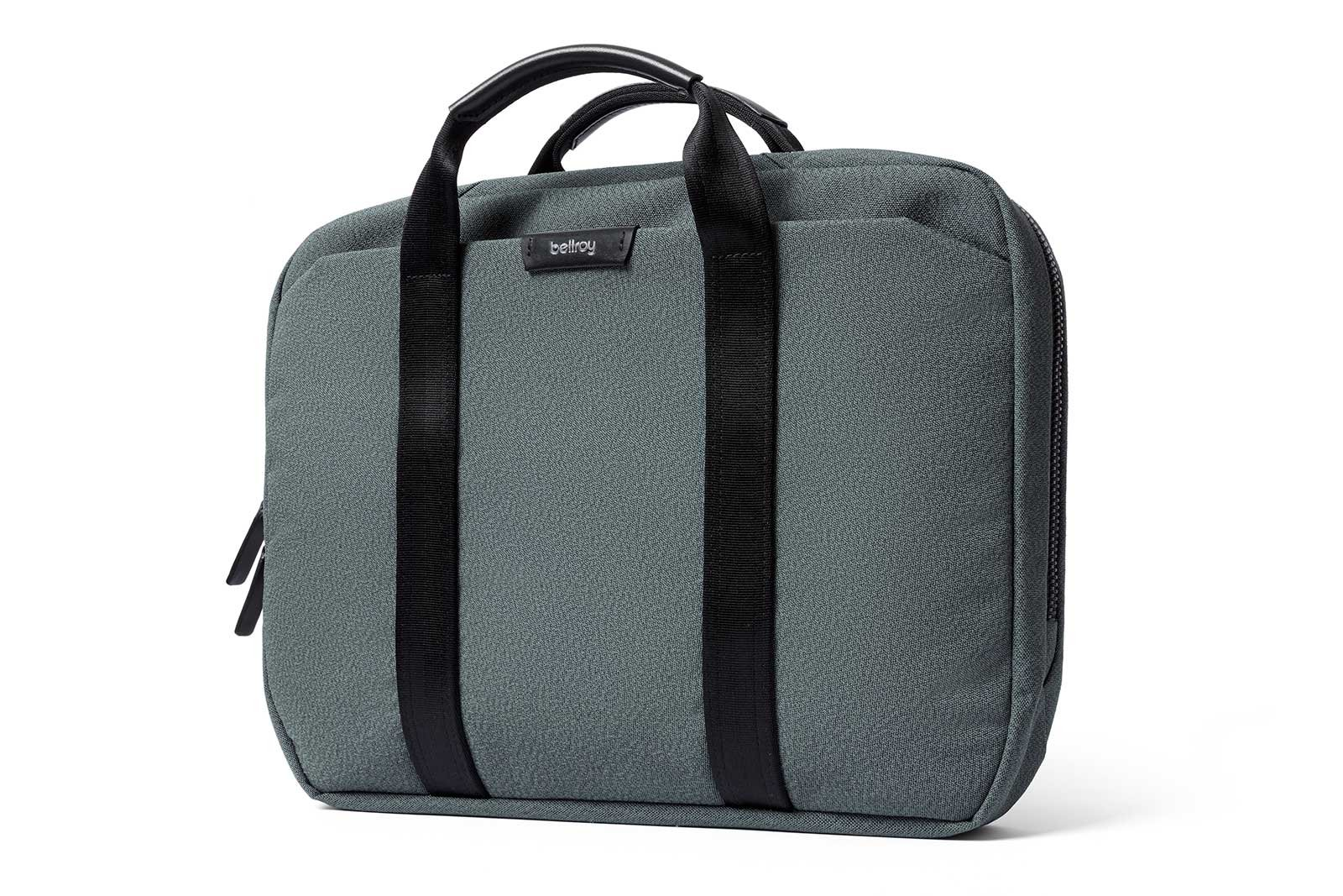 Bellroy Laptop Brief 13'', Woven Laptop Bag (13'' Laptop, Notes, Cables, Everyday Essentials) Moss