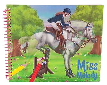 Miss Melody 8406 Malbuch Amazon De Spielzeug