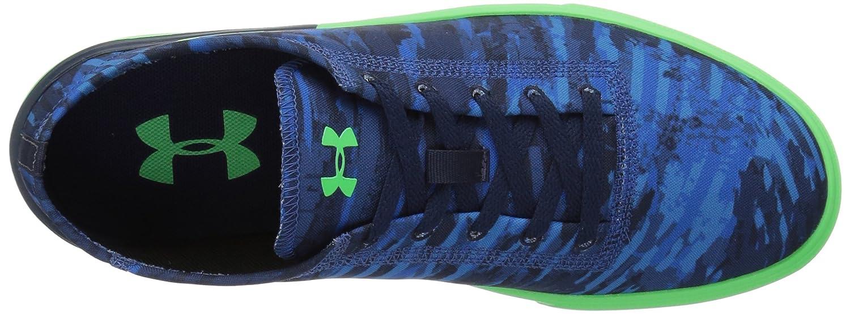 Under Armour Grade School KickIt2 VG Sneaker, Moroccan Blue (401)/Arena Green, 5.5 B0716L8K8F Parent