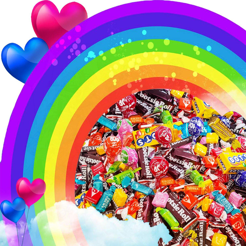 Bulk Starburst & Tootsie Favorites 9.5 Lb Candy Variety Value Bundle Care Package 400+ Pcs (152 Oz) by Assortit (Image #6)