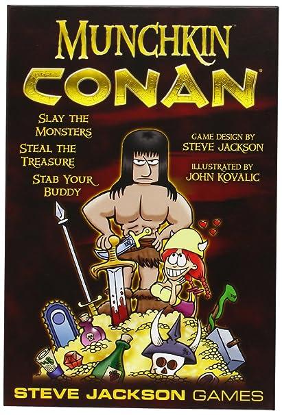 Amazon.com: Munchkin: Conan Juego: Toys & Games