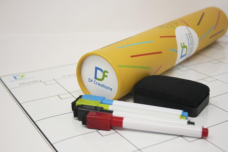 Kühlschrank Planer : Df creations magnetischer monatskalender whiteboard für den
