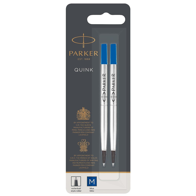 Parker ricarica per penna roller punta fine blu