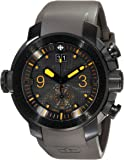 """Zodiac ZMX Men's ZO8544 """"Special Ops"""" Stainless Steel Watch with Matte Grey Rubber Strap"""