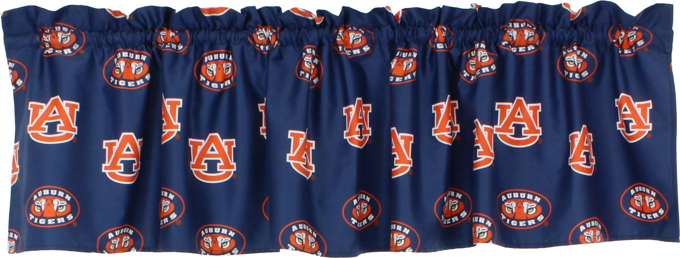 College Covers Auburn Tigers Printed Curtain Valance, 84'' by 15''