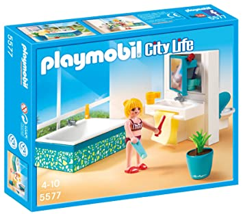Playmobil 5577 Bathroom: Amazon.co.uk: Toys & Games