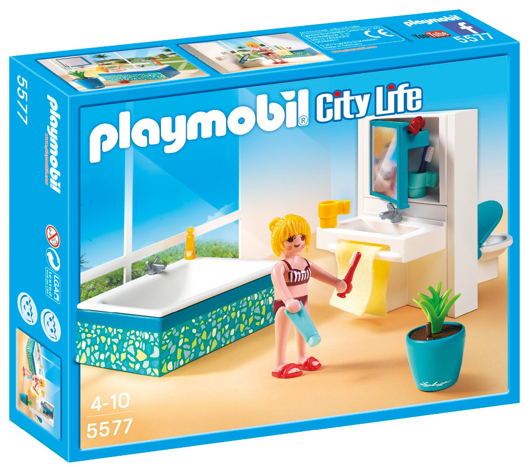 Playmobil city life 6457 teenager 39 s room for Playmobil jugendzimmer 6457
