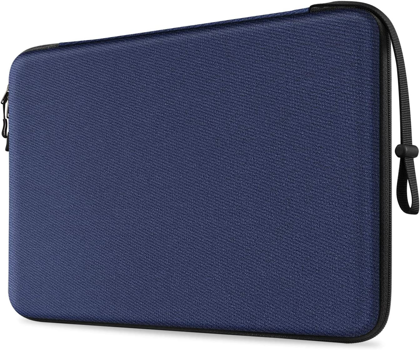 FINPAC 13-inch Hard Laptop Sleeve Compatible for 13.3'' MacBook Air/ Pro, Shockproof Computer Laptop Carrying Case for Dell Inspiron 13/XPS 13, Surface Laptop, HP, Acer, Samsung (Navy)