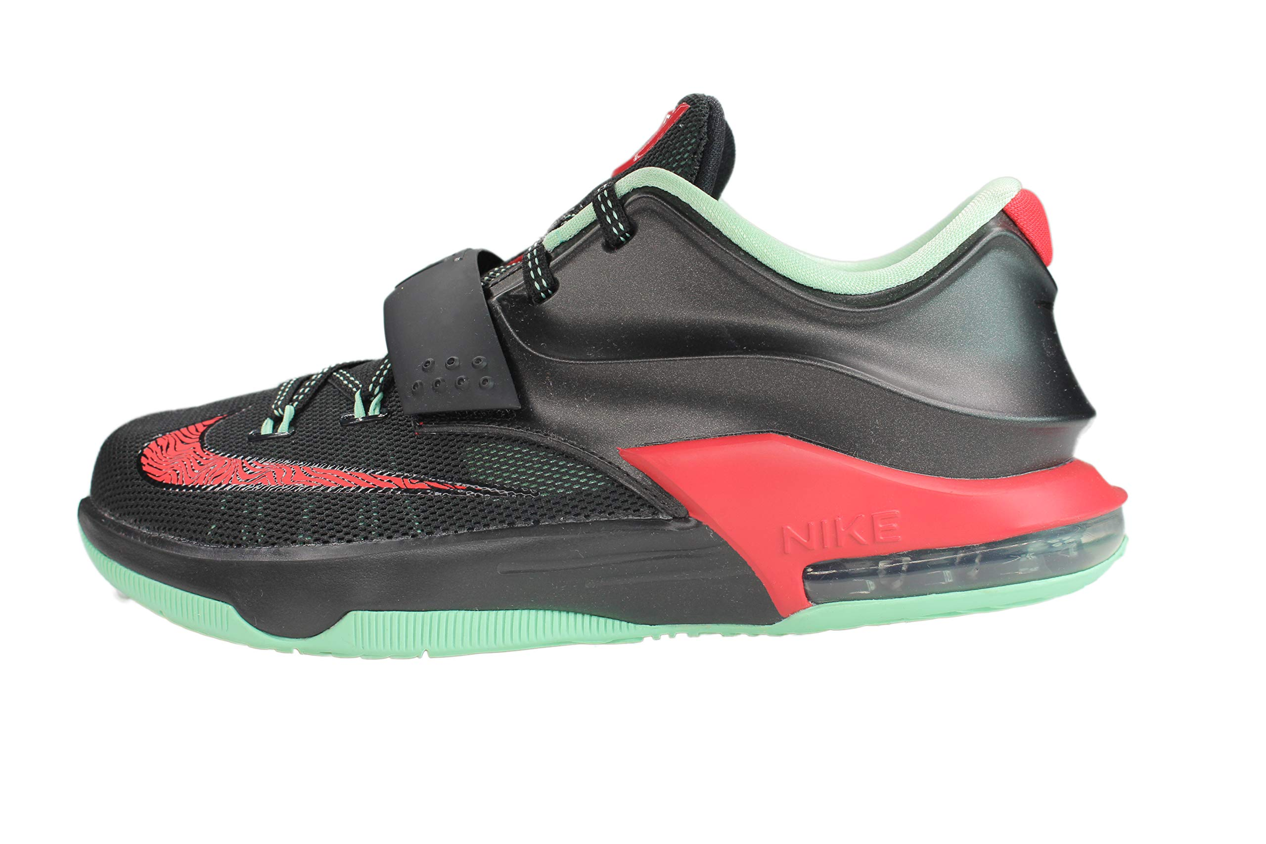 best sneakers fd4f1 91e0a Nike KD VII GS (Good Apples) Black/Medium Mint-Action Red (6)