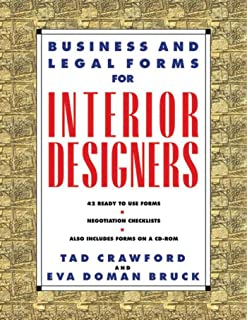 business and legal forms for interior designers second edition business and legal forms series