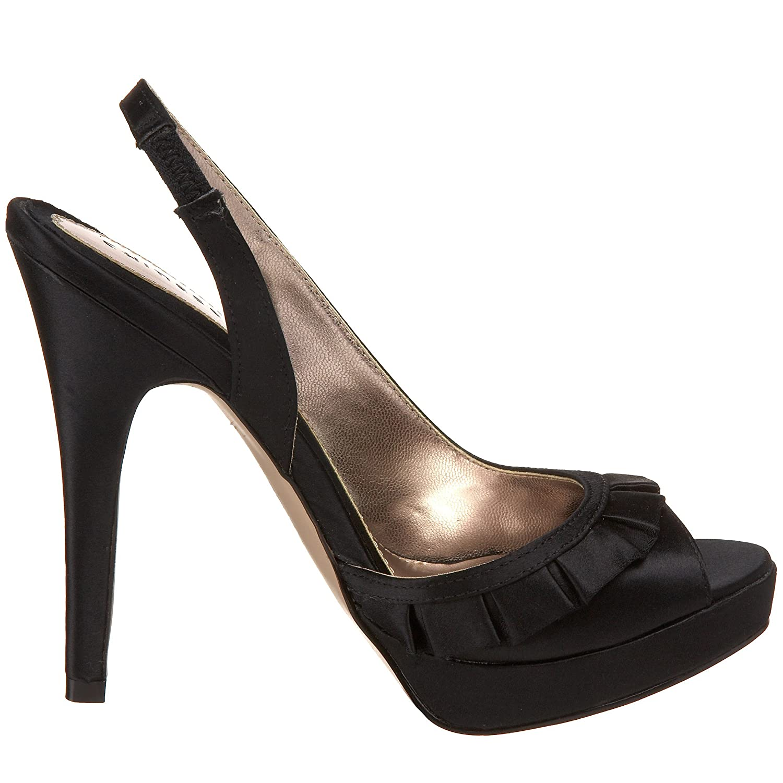 Chinese Laundry Women's Femme Fatale Platform Sandal B002XK60I6 7.5 M S|Black