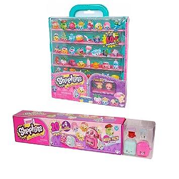 Shopkins Season 5 Mega Pack With Collectors Case Bundle