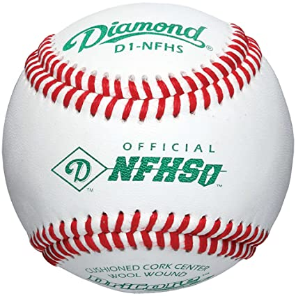 Baseballs For Sale >> Amazon Com Diamond High School Game Baseball Dozen Sports Outdoors