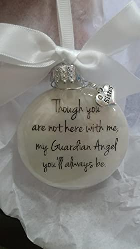 Amazon Com In Memory Sister Gift My Guardian Angel You Ll Always Be
