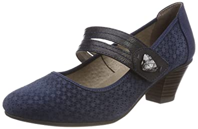 Jana Damen 24331 Pumps Blau
