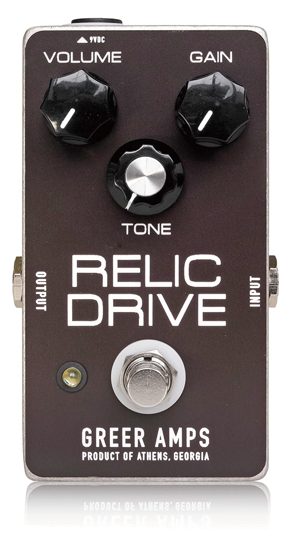 Greer Amps グリアーアンプス オーバードライブ Relic Drive 【国内正規品】 B00L4RAUXA