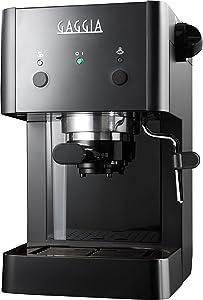 Gran Gaggia Deluxe in Schwarz - Espressomaschinen Angebot