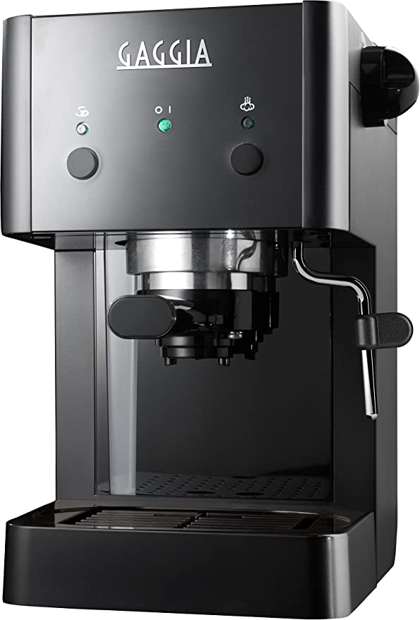 Gaggia GG 2016 Independiente Máquina espresso Negro 1 L Manual ...