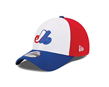 New Era MLB Montreal Expos Cooperstown Team Classic 39Thirty Stretch Fit  Cap a98f1d01020