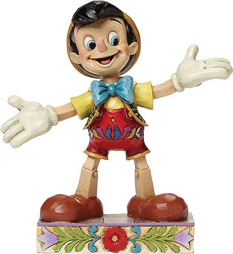 Jim Shore for Enesco Disney Traditions Pinocchio Figurine, 4
