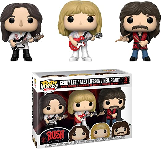 Funko- Pop Figura de Vinilo 3-Pack: Música: Rush-Geddy, Alex, Neil Coleccionable, Multicolor (32682): Amazon.es: Juguetes y juegos