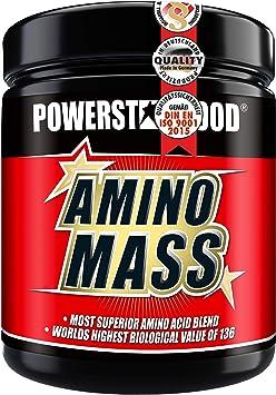 AMINO ácidos de complejo de proteína amino Mass, el hochdosierte mejor Amino Acid con el mayor del Mundo Biológicas valor de 136 – Calidad para la ...