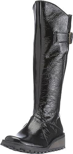 Mol Casual Boot Black Patent P210318054