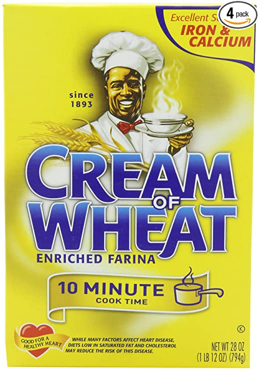 Cream of  Wheat, Original Stove Top, 10 Minutes, 28 Ounce Boxes (Pack of 4)