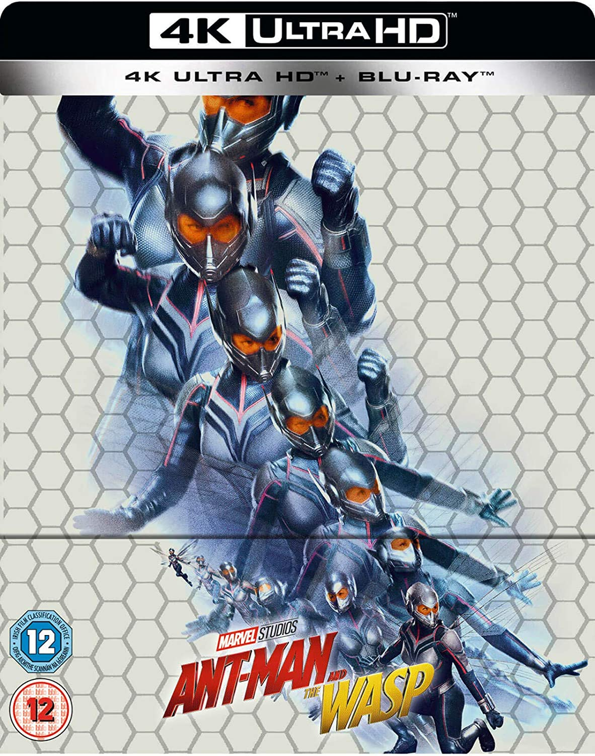 Amazon.com: Ant-Man and the Wasp - 4K Ultra HD (Includes Standard Blu Ray) Steelbook [Region Free]: Movies & TV