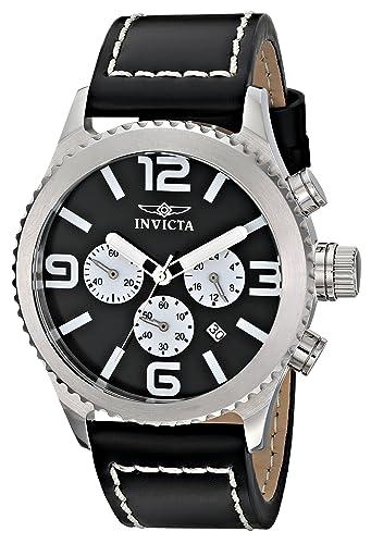 Invicta 1427 - Reloj de pulsera hombre, sintético, color negro: Amazon.es: Relojes