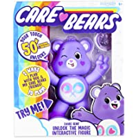 """Basic Fun NEW 2020 Care Bears - 5"""" Interactive Figure - Share Bear - Your Touch Unlocks 50+ Reactions & Surprises!"""