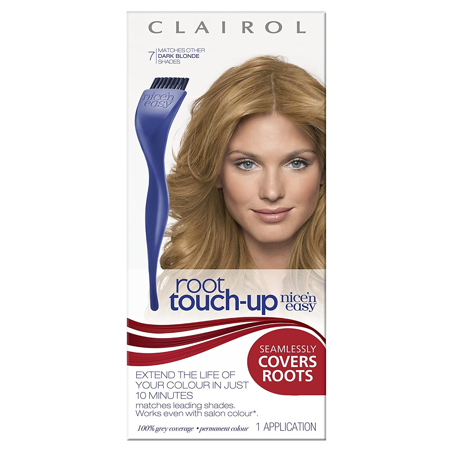 Clairol Root Touch Up Permanent Hair Dye 7 Dark Blonde Amazon