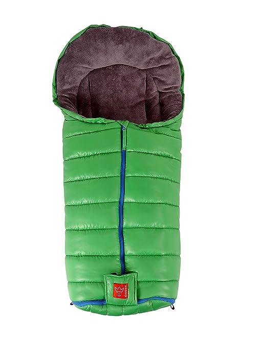 Kaiser 6571647 Finn - Saco para bebés térmico polar verde
