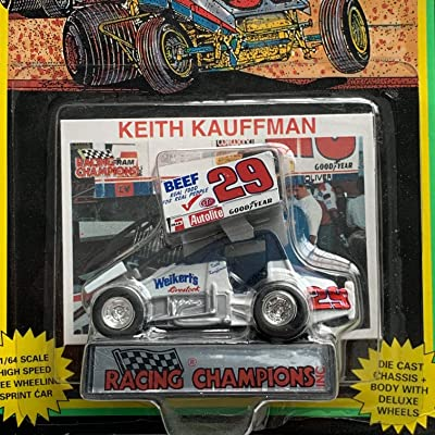 WORLD OF OUTLAWS Racing Champions #29 Keith Kauffman 1:64 Sprint Car: Toys & Games
