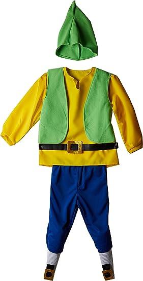 Creaciones Llopis - Disfraz de enanito para niños de 9/11 años ...
