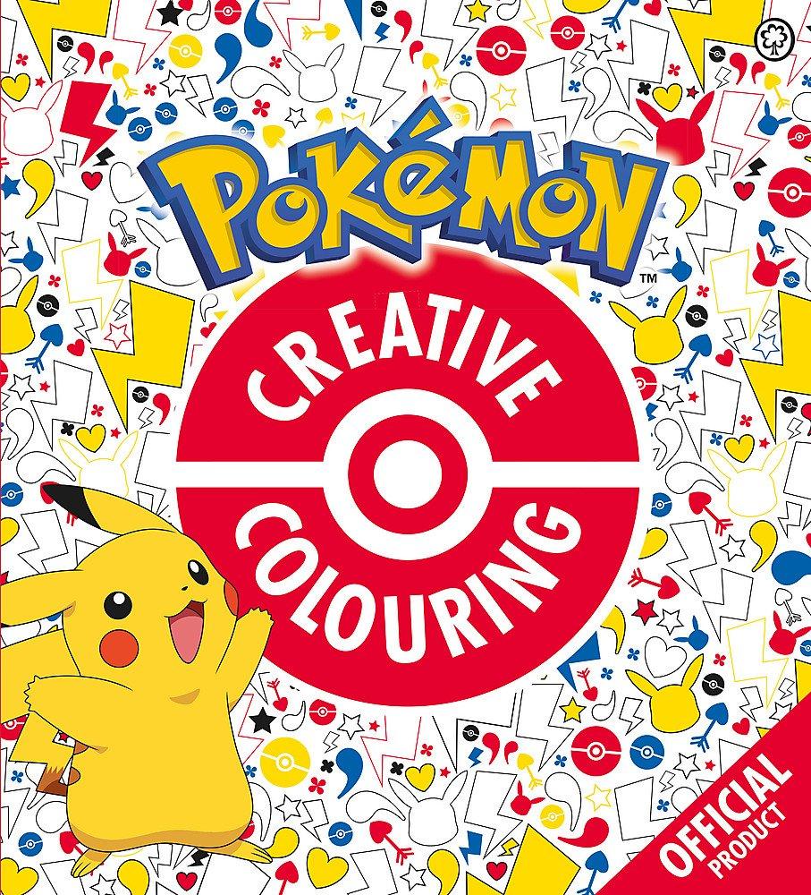 Official Pokémon Creative Colouring 71% OFF £2 @ Amazon