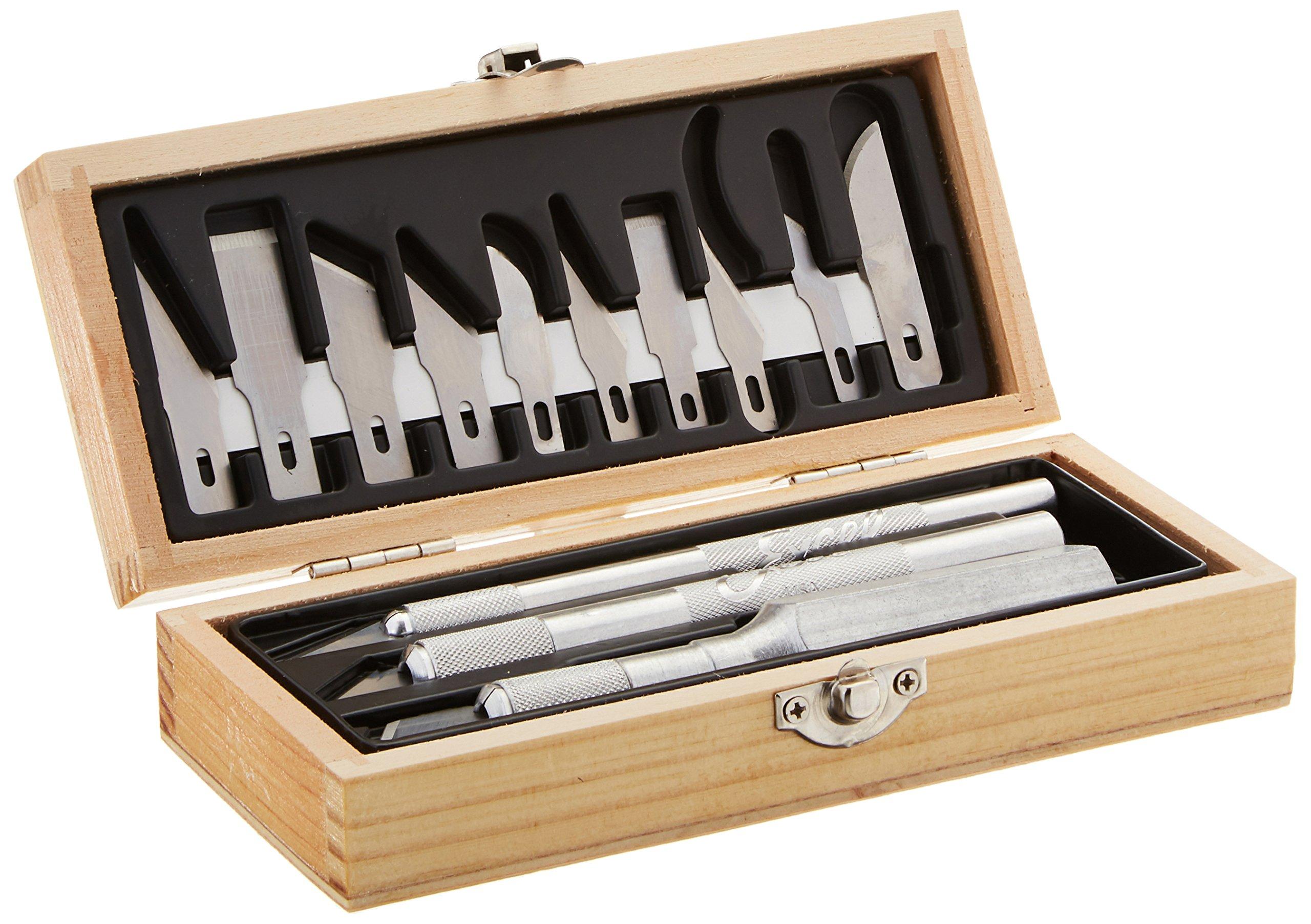 Excel Blades Craftsmen Hobby Knife Set