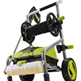 Sun Joe SPX4001-PRO 2030 MAX PSI 1.76 GPM 14.5 Amp Electric Pressure Washer and Hose Reel, Green